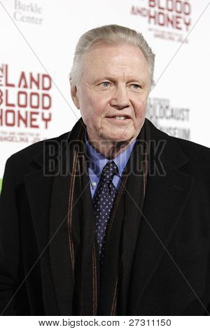LOS ANGELES - DEC 8: Jon Voight at the premiere of FilmDistrict's 'In the Land of Blood and Honey' held at ArcLight Cinemas on December 8, 2011 in Los Angeles, California