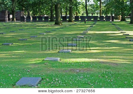 German cemeterery, World War I