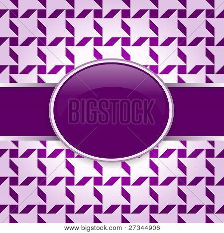 Violet vector design pattern card