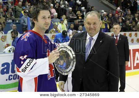 Great Britain - Silver Medalist Of Iihf World Championship Div I