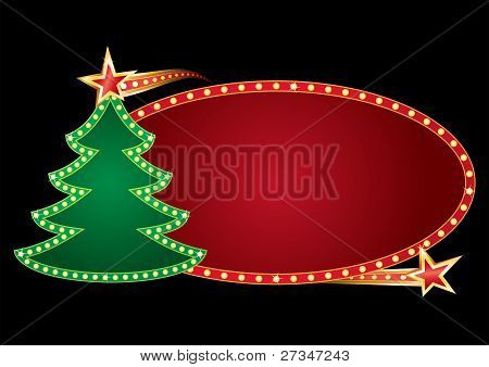Christmas neon