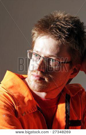 Face Portrait Of A Man