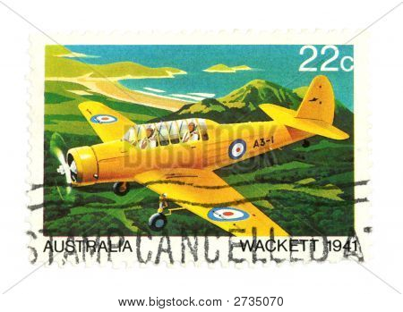 Air Mail Post Stamp