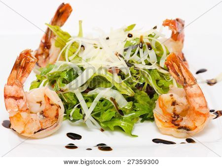 Roquette With Shrimps
