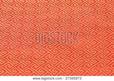 Oriental fabric brocade