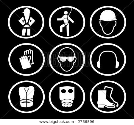 Construction Safety Symbols (Replacing: 2507293)