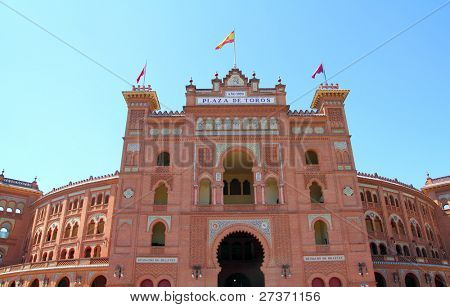 Madrid bullring Las Ventas Plaza de toros Monumental