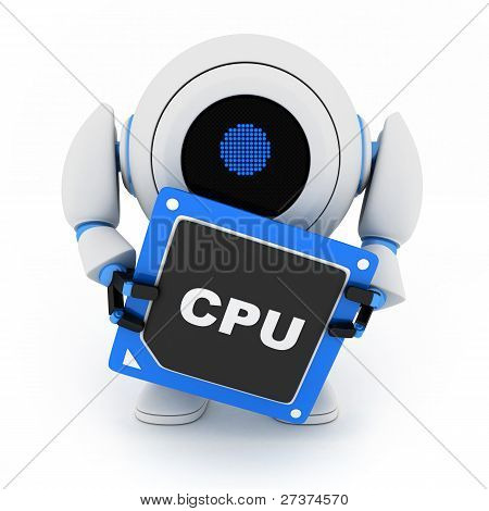 Robot And Cpu
