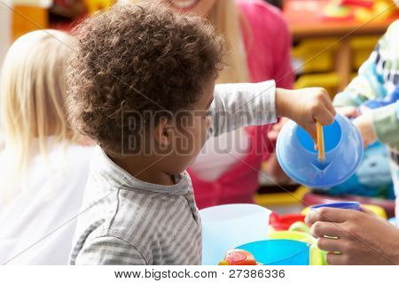 Children in nursery