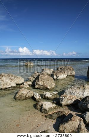 Guam Rocky Beach