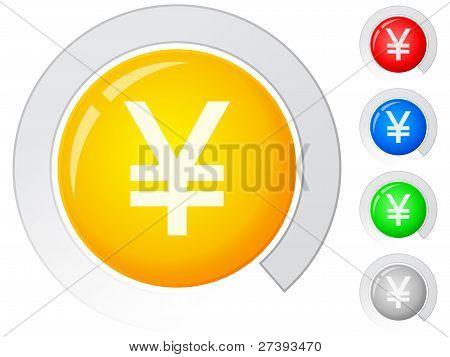 Buttons Yen