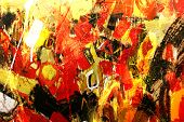 pic of abstract painting  - artwork - JPG