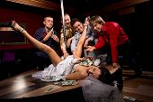 image of bachelor party  - Crazy bachelor - JPG