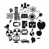 Discoveries Icons Set. Simple Set Of 25 Discoveries Icons For Web Isolated On White Background poster