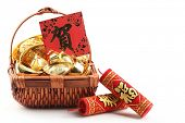 pic of chinese crackers  - Chinese New Year Ornament - JPG