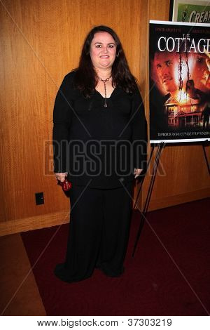 LOS ANGELES - SEP 28:  Jacquie Barnbrook arrives at the