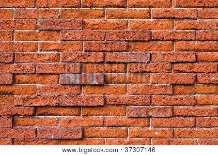 Uneven Brick Wall