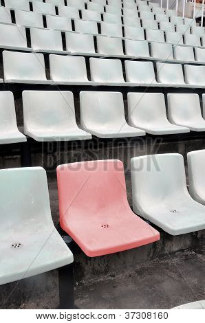 Multitude Of White Chair