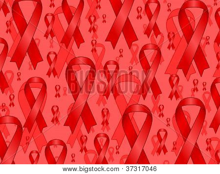 Aids Ribbons Background
