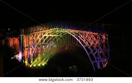 Ironbridge Light Show