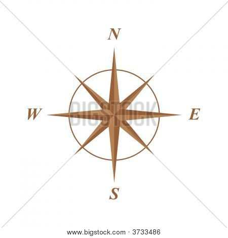 Compass Rose ilustración