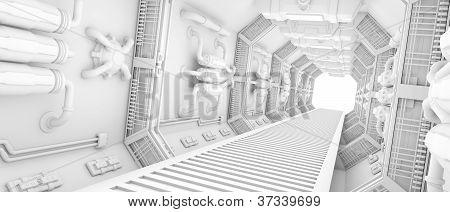 Interior Of A Spaceship