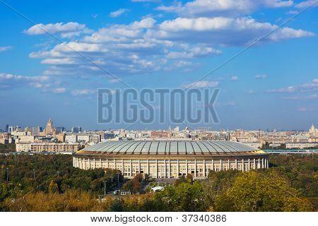 Stadium Luzniki At Moscow Russia