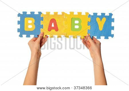 el bebé de la palabra