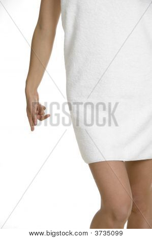 Half Length Of Female Body