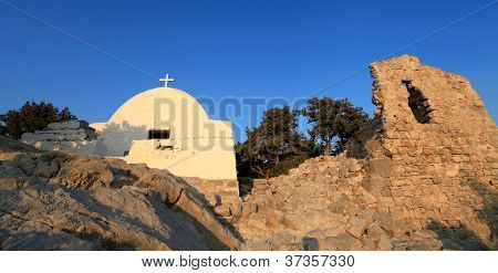 Monolithos Castle Church