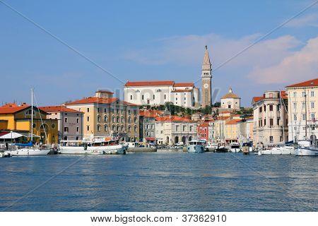Old town Piran - Slovenian coast