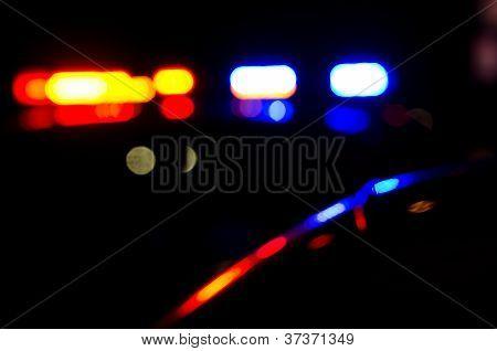 Luces de policía