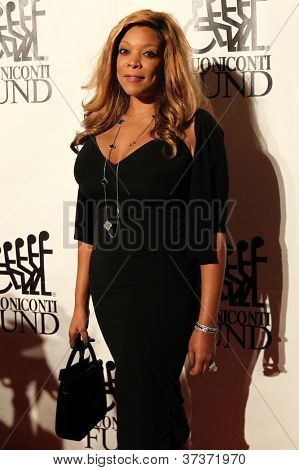 NEW YORK-SEPT. 24: TV personality Wendy Williams attends the 27th annual Great Sports Legends Dinner for the Buoniconti Fund at the Waldorf-Astoria on September 24, 2012 in New York City.
