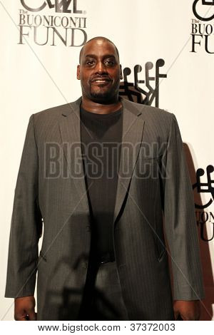 NEW YORK-SEPT. 24: Former basketball player Anthony Mason attends the 27th Great Sports Legends Dinner for the Buoniconti Fund at the Waldorf-Astoria on September 24, 2012 in New York City.