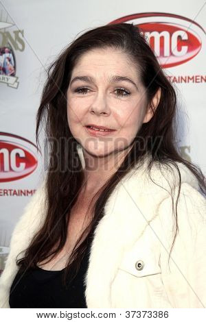 LOS ANGELES - SEP 29:  Sally Boyden arrives at the 40th Anniversary of