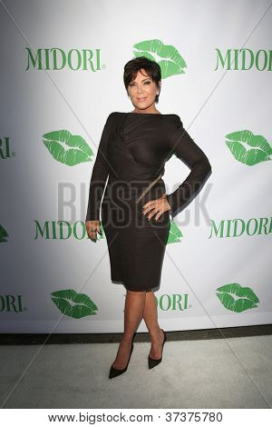 SANTA MONICA - SEP 25: Kris Jenner at the Midori Makeover Parlour at Fred Segal on September 25, 2012 in Santa Monica, California