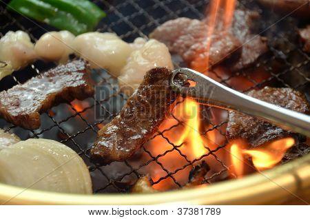 Korean barbecue Yakiniku