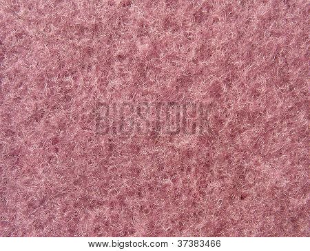 Texture Of Soft Pink Fleecy Fabric