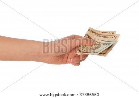 dinero sucio de dólares