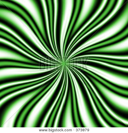 Green Swirly Vortex