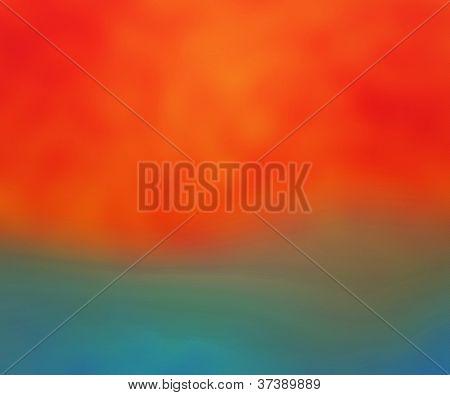 Orange Blureed Background Soft Texture