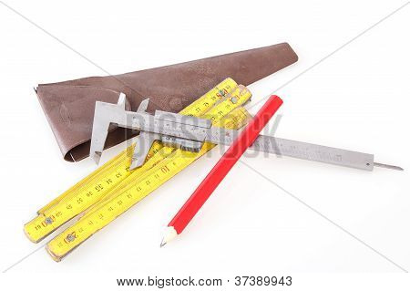 Set Of Measuring Tools
