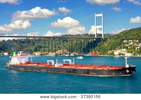 Super Tanker Ship