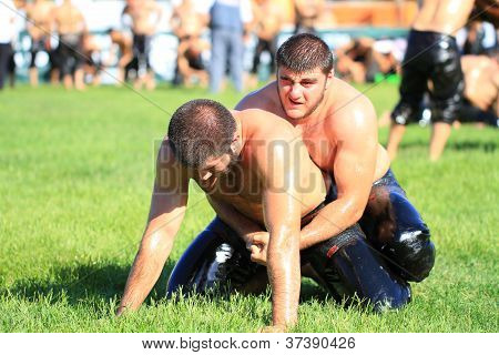 Oil wrestlers (Pehlivan)