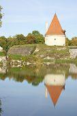 Medieval Tower In Kuressaare Estonia poster