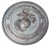 foto of corps  - US Marine Corps commemorative plaque in Washington DC - JPG