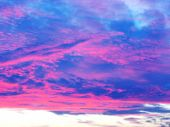 Pastel Clouds 06 poster