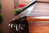 stock photo of coffin  - Religion - JPG