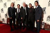 NEW YORK-SEPT. 24: New York Rangers players attend the 27th annual Great Sports Legends Dinner for t
