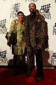 NEW YORK-SEPT. 24: Former basketball player Walt Frazier and Patricia James attend the 27th Great Sp